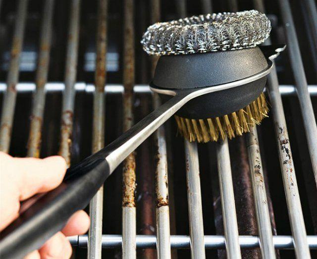 Как очистить мангал