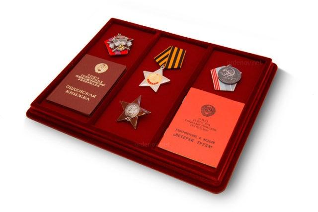 Планшет для медалей