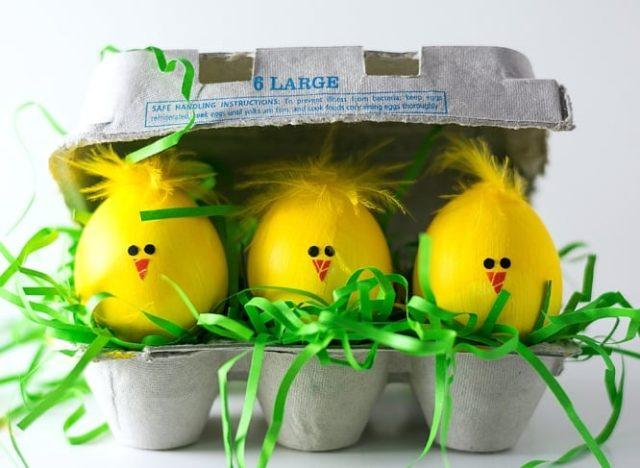 Окрашивание яиц дома