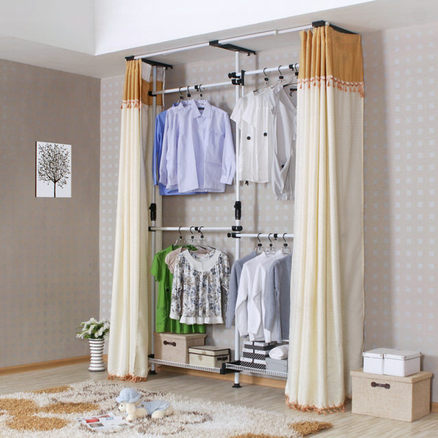 Организация пространства в гардеробе