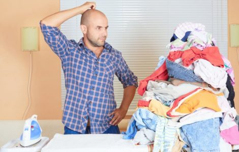 Как гладить вещи без утюга