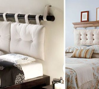 Как оформить изголовье кровати