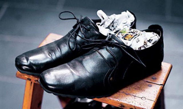 Что делать, если обувь промокла