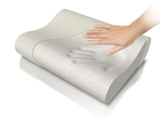Ортопедическая подушка с эффектом памяти