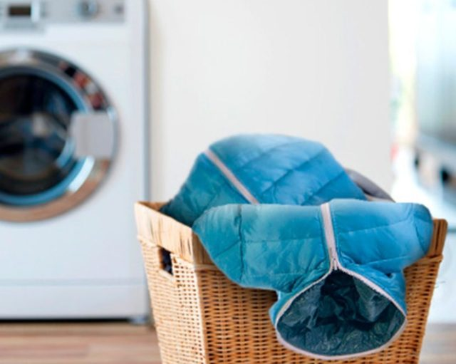 Как высушить пуховик