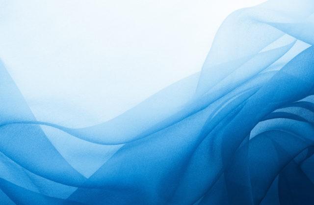 Покраска тюли синькой