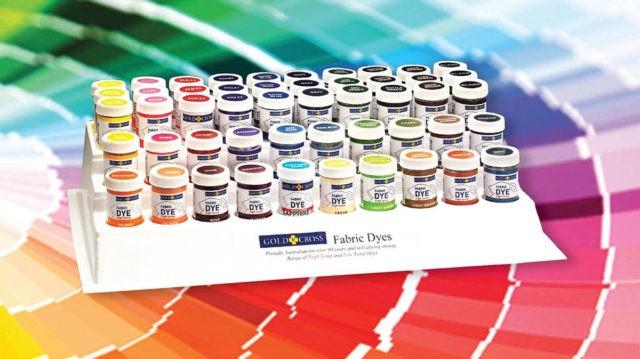 Краски для покраски тканей