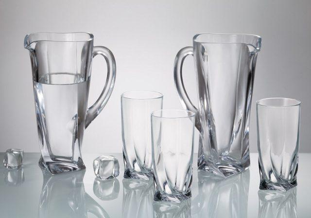 Как вернуть блеск стеклянной посуде